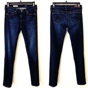 AG The Stilt Cigarette Dark Wash Jeans